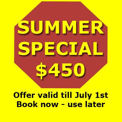 summer special driving course $450