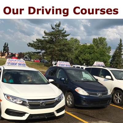 Our driving courses