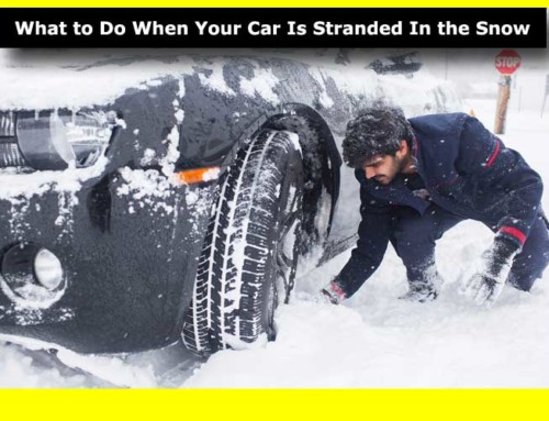 What to Do When Your Car Is Stranded In the Snow