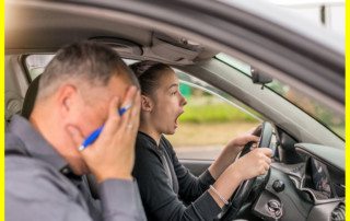 top reasons people fail driving test