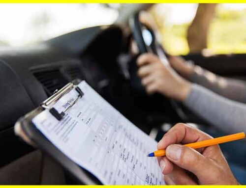 why rent a car for driving test