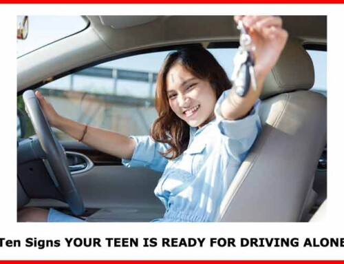 Ten signs your teen is ready for driving alone